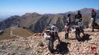 Wind in the face and freedom on all sides! A motorcycle trip on mountain highways and high-altitude dirt roads in the Pamir and...