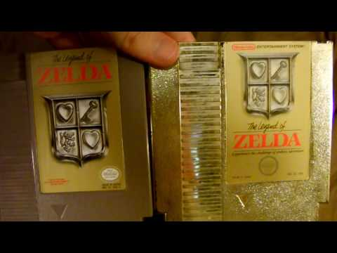 Jeremy Shows: NES cartridge variations