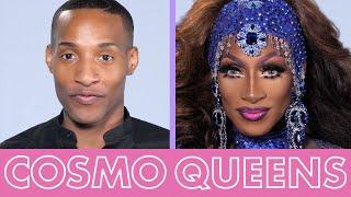 Drag Race Contestant Jaida Essence Hall Creates a Royal Blue Drag Look Fit 4 a Queen | Cosmo Queens by Cosmopolitan