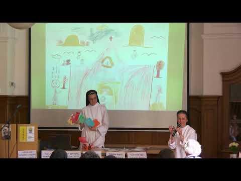 2018-06-02 Kateketika műhely a Sapientia Szerzetesi Hittudományi Főiskolán - Héjja Beatrix és Hernády Eszter