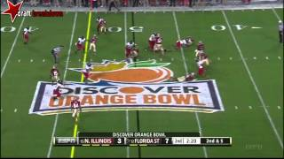 Jimmie Ward vs Florida State (2012 Bowl)