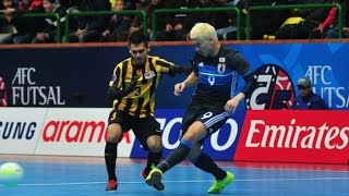 Video MALAYSIA v JAPAN: AFC Futsal Championship 2016 (Group Stage) MP3, 3GP, MP4, WEBM, AVI, FLV Januari 2018