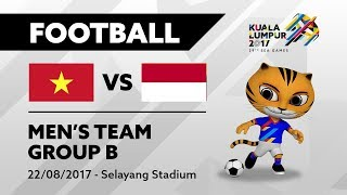 Video KL2017 29th Sea Games | Men's Football - VIE 🇻🇳 vs INA 🇮🇩 | 22/08/2017 MP3, 3GP, MP4, WEBM, AVI, FLV Juli 2018