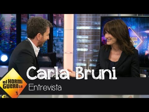 Historias de amor - Carla Bruni relata cómo vivió su bonita historia de amor con Nicolas Sarkozy - El Hormiguero 3.0