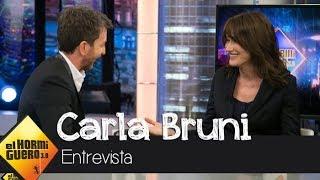Carla Bruni relata cómo vivió su bonita historia de amor con Nicolas Sarkozy - El Hormiguero 3.0