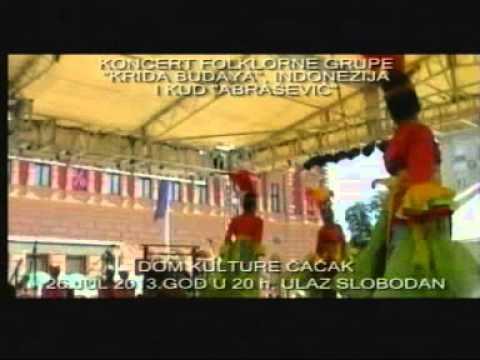 Концерт индонежанске фолклорне групе у Дому културе