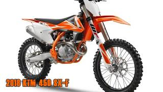 4. KTM Announces 2018 SX-F Motocross Bikes | Updates, Specs, and Prices