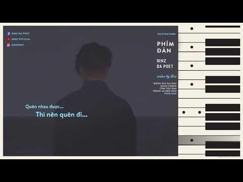 PHÍM ĐÀN | BINZ DA POET || VIDEO LYRICS - Thời lượng: 3 phút, 54 giây.
