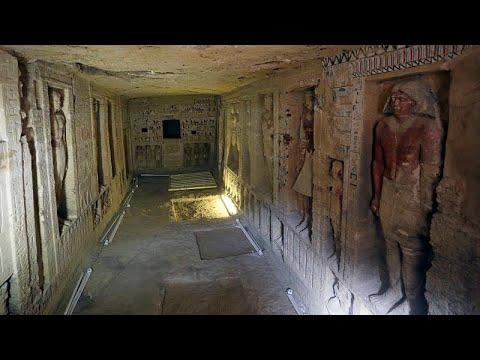 Ägyten: 4.400 Jahre alte Grabstätte bei Ausgrabungen  ...
