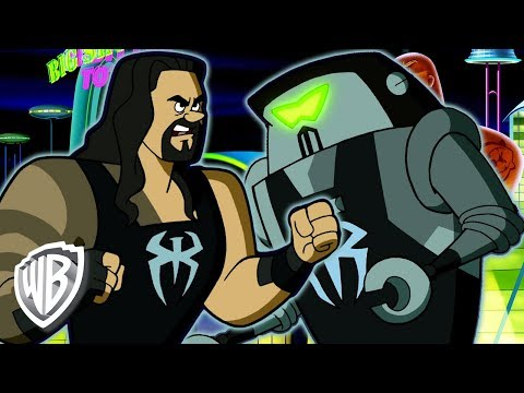 Jetsons & WWE: Robo-Wrestlemania! en Español | Batalla Robot | WB Kids