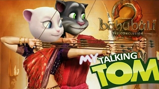Video Bahubali 2 ore oru raja song talking tom&angelo version MP3, 3GP, MP4, WEBM, AVI, FLV Mei 2018