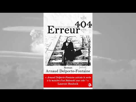 Sortie de Erreur 404, le troisième roman de Arnaud Delporte-Fontaine