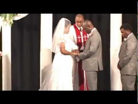 Mr. & Mrs. Lumuba & Tiffani Moore Wedding Hi Lites by ECS Video Productions of Raleigh NC