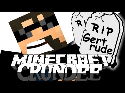 Minecraft: CRUNDEE CRAFT | I KILLED GERTRUDE [50]