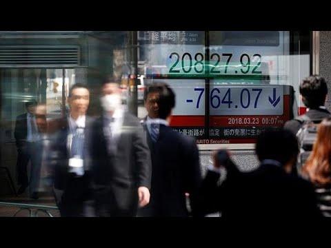 Κλυδωνισμοί στις ασιατικές αγορές μετά τους φόβους για εμπορικό πόλεμο…