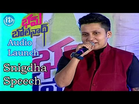 Video Snigdha Funny Comments on Pradeep @Bham Bolenath Audio Launch |Navdeep | Naveen Chandra download in MP3, 3GP, MP4, WEBM, AVI, FLV January 2017