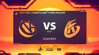Vici Gaming vs Keen Gaming, MDL Disneyland® Paris Major, bo3, game 1 [Lex & Inmate]