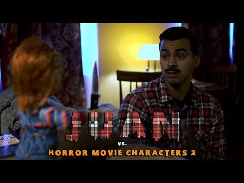 Juan vs Horror Movie Characters 2 | David Lopez