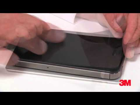 3M™ Privacy Screen Protector Bubble Removal