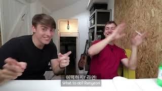 Where Ollie begins his jolly journey into the language of Hangul (Korean). 한국어도 모르고 한국어 영상을 편집하던 올리를 위해...