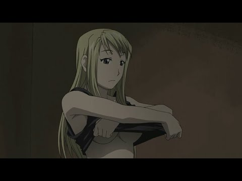 Winry Return Home -full Metal Alchemist Brotherhood Funny Moment