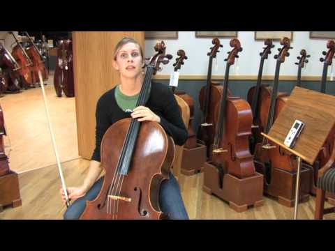 Tuning a Cello to a Reference Pitch