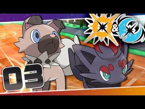 Pokémon Ultra Sun and Moon - Episode 3 | Hau'oli Trainers' School!