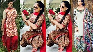 Traditional Phulkari Suits With Handmade Embroidery || Stylish Trendy Punjabi Phulkari Suits Ideas