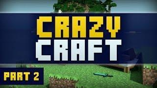 Minecraft CRAZY CRAFT #2 'AMETHYST' (CrazyCraft Part 2)