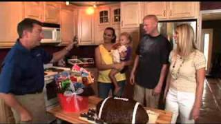 When the Stephens family returns home after the Military Makeover, they are greeted by Designing Spaces' Debi Marie and John ...