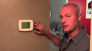 Video Thermostat for Your Home A/C & Heat. Thermostat maintenance. Battery Changing. 34680 MP3, 3GP, MP4, WEBM, AVI, FLV Juni 2018