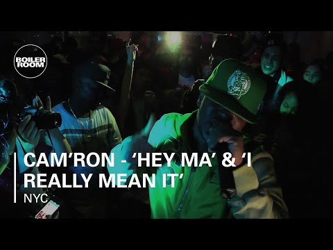 "Cam'ron performs ""Hey Ma"" and ""I Really Mean It"""