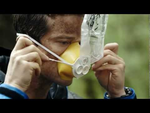 bear grylls - Air New Zealand has released another unique airline safety video - this time they have teamied up with adventurer Bear Grylls to create a ground breaking pie...