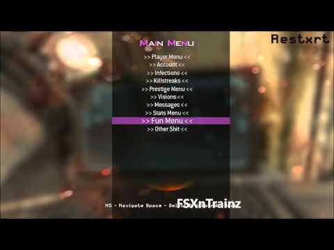 MW2 Mod Menu July 2013 Xbox, PC, PS3 No JTAG or Jailbreak