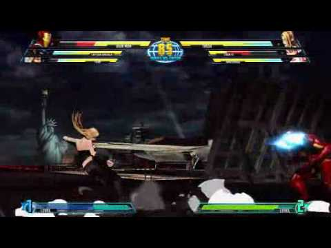 New Marvel vs Capcom 3 combat gameplay
