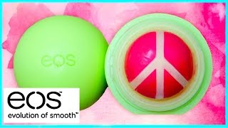 DIY EOS lip balm: peace sign design! EASY - YouTube