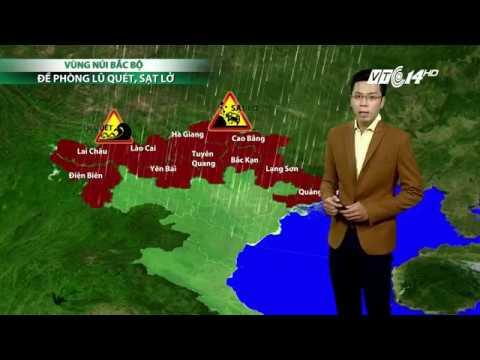VTC14 | Thời tiết cuối ngày ngày 15/08/2017 | Dự báo thời tiết hôm nay