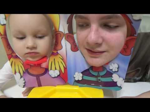 Меня НИКТО не понимает  Играю с Алисой в Пирог в лицо Развлечения для детей детская игра