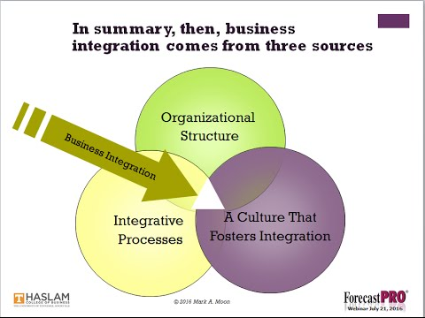 Advancing from SOP to True Business Integration