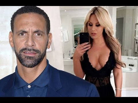 Rio Ferdinand boxing eclipsed by girlfriend Kate Wright Instagram PDA
