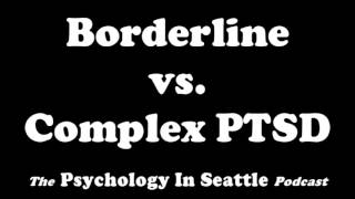 Dr. Kirk Honda talks with Bob Goettle about the different between Borderline and Complex PTSD.The Psychology In Seattle Podcast. July 19, 2017.Email: Contact@PsychologyInSeattle.comBecome a patron of our podcast by going to https://www.patreon.com/PsychologyInSeattle