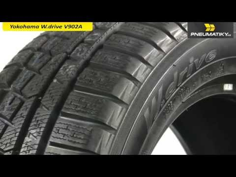 Youtube Yokohama W.drive V902A 205/60 R15 91 H Zimní