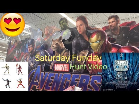 Saturday Hunt At&t Night King Hasbro Power Rangers Marvel Funko