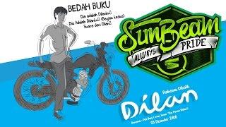 Sunbeam Cloth Support Bedah Buku Dilan (Rahasia Dibalik Dilan) 25 Desember 2016