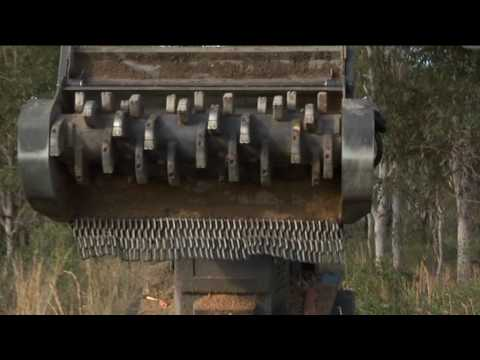 Terex Skid Steer - PT 100G Forestry Video Image