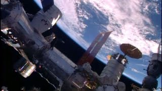 Apr 10, 2016 ... ISS - Space X Dragon CRS-8 berthing docking and installation with BEAM full ncoverage ... Please try again later. Published on Apr 10, 2016...