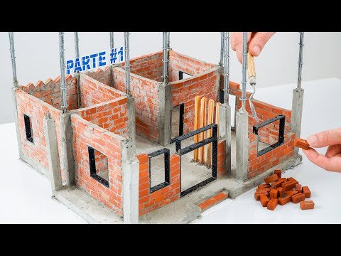 Bricklaying In Mini House | Foundation Model