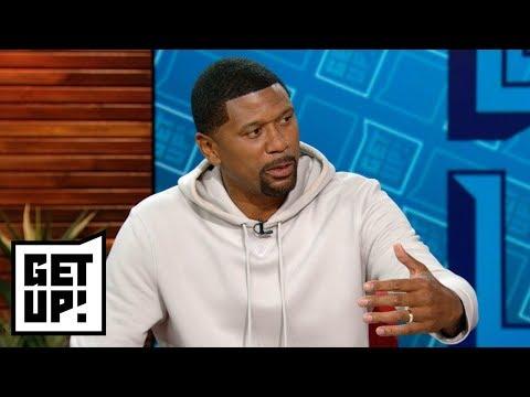 Jalen Rose: If you're the Philadelphia Eagles you don't start Carson Wentz Week 1   Get Up!   ESPN (видео)