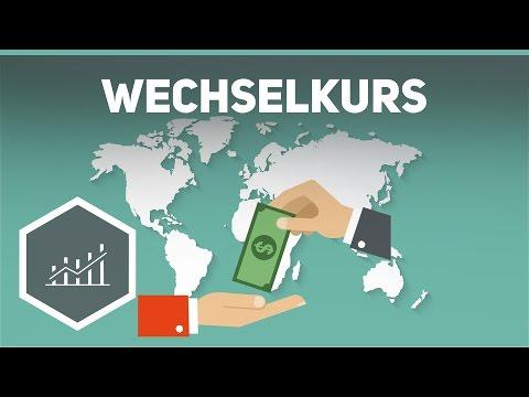Der Wechselkurs - Grundbegriffe der Wirtschaft