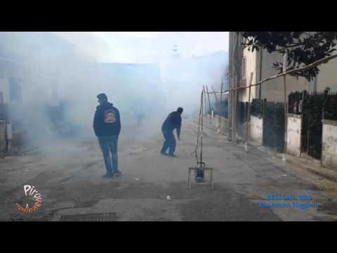 BELLONA (Caserta) - Pirotecnica ROGGIERO (Batteria 2016)